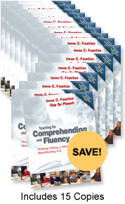 Teaching for Comprehension and Fluency Book Study Bundle