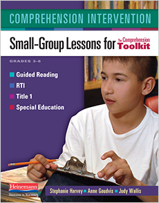 Comprehension Intervention cover