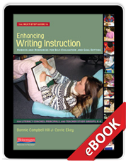 Learn more aboutNext Step Guide to Enhancing Writing Instruction (eBook)
