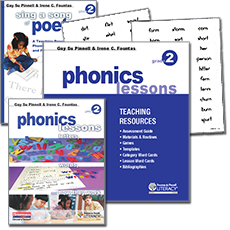 Phonics Lessons BUNDLE, Grade 2
