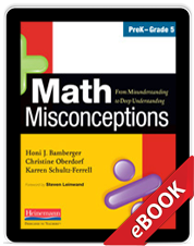 Math Misconceptions, PreK-Grade 5 (eBook)
