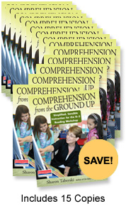 Comprehension from the Ground Up Book Study Bundle