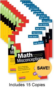 Math Misconceptions Book Study Bundle Pack