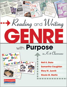 Reading and Writing Genre with Purpose in K-8 Classrooms cover