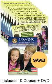 Comprehension from the Ground Up Staff Development Bundle