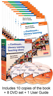 Continuum of Literacy Learning PreK-2 Staff Development Bundle