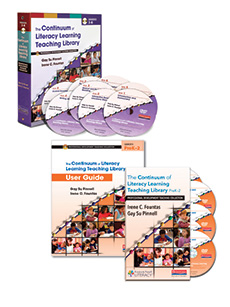 The Continuum of Literacy Learning Teaching Library Bundle