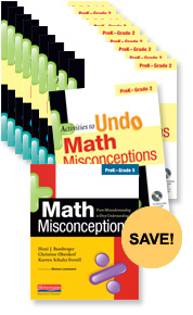 Math Misconceptions Teacher Pack, Grades PreK-2