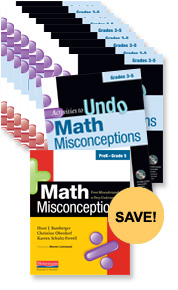 Math Misconceptions Teacher Pack, Grades 3-5