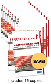 Comprehension Going Forward Book Study Bundle