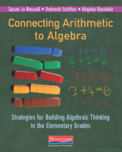 Connecting Arithmetic to Algebra (Professional Book) cover