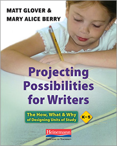 Projecting Possibilities for Writers cover