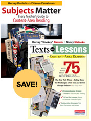 Texts and Lessons with Subjects Matter Bundle