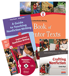Nonfiction Writing PLUS Pack: Grade K cover