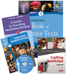 Nonfiction Writing PLUS Pack: Grade 1 cover