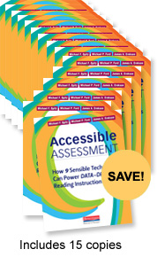 Accessible Assessment Book Study Bundle