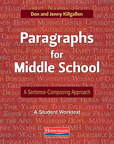 Paragraphs for Middle School cover
