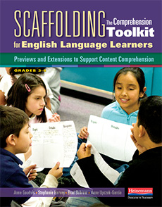 Scaffolding The Comprehension Toolkit for English Language Learners cover