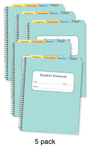 Reader's Notebook (5 pack)