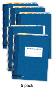 Reader's Notebook: Advanced (5-pack)