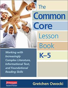 The Common Core Lesson Book, K-5 cover