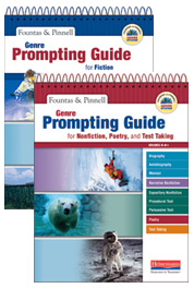 Genre Prompting Guide for Fiction + Genre Prompting Guide for Nonfiction, Poetry and Test Taking