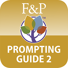 Fountas & Pinnell Prompting Guide Part 2: iPad App