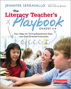 The Literacy Teacher's Playbook, Grades 3-6 cover