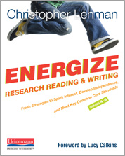 Energize Research Reading and Writing