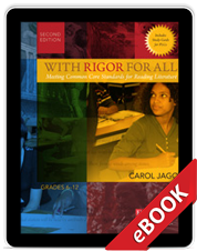 With Rigor for All, Second Edition (eBook) cover