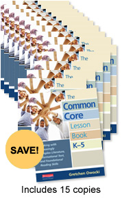 The Common Core Lesson Book, K-5 Book Study Bundle
