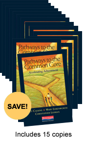 Pathways to the Common Core Book Study Bundle