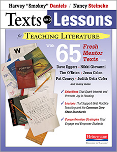 Texts and Lessons for Teaching Literature cover