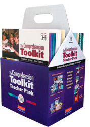 The Comprehension Toolkit Teacher Pack, Grades 3-6