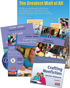 Nonfiction Writing Plus Pack Grade 3 cover