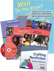 Nonfiction Writing Plus Pack Grade 4 cover