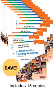 Continuum of Literacy Learning PreK-2 Book Study Bundle