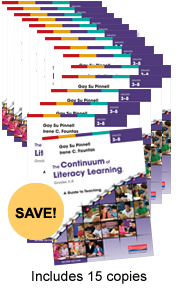 Continuum of Literacy Learning 3-8 Book Study Bundle