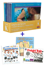 Units of Study in Opinion, Information, and Narrative Writing, Grade K with Trade Book Pack