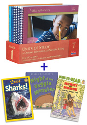 Units of Study in Opinion, Information, and Narrative Writing, Grade 1 with Trade Book Pack