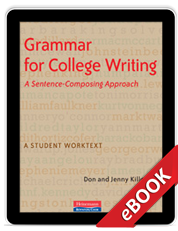 Learn more aboutGrammar for College Writing (eBook)