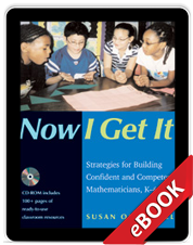 Learn more aboutNow I Get It (eBook)