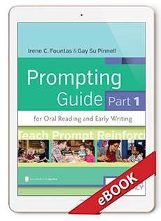 Heinemann electronic books and digital ebooks for teachers and fountas and pinnell prompting guide part 1 ebook fandeluxe