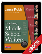 Learn more aboutTeaching Middle School Writers (eBook)
