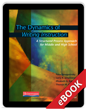The Dynamics of Writing Instruction (eBook)