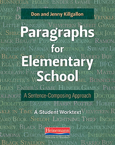 Paragraphs for Elementary School cover