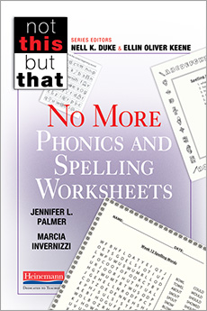 Learn more aboutNo More Phonics and Spelling Worksheets