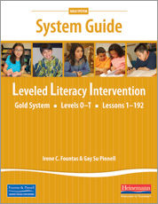 Leveled literacy intervention lli gold lli gold system guide cover fandeluxe Gallery
