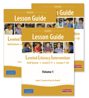 LLI Gold Lesson Guides 1 - 3 (Pack)