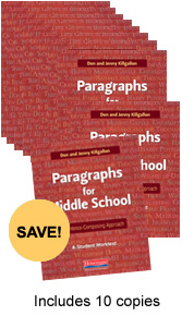 Learn more aboutParagraphs for Middle School 10 Pack
